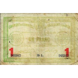 COUNTY 62 - BOULOGNE SUR MER - CHAMBER OF COMMERCE - 1 FRANC