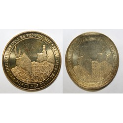 County 75 - PARIS - LES PENNES MIRABEAU - NORMAL + DEFORMED TOKEN - MDP - 2012