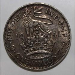 ROYAUME UNI - KM 853 - 1 SHILLING 1941