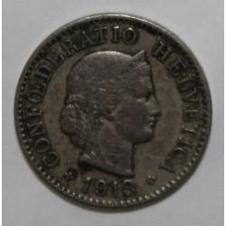 SUISSE - KM 26 - 5 CENTIMES 1913