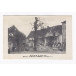 02400 - GLAND - SÉRIE DE 9 CARTES POSTALES BATAILLE DE LA MARNE 1918