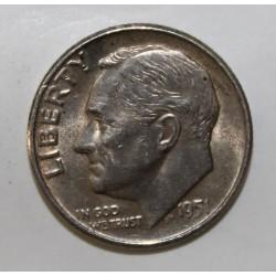 ETATS UNIS - KM 195 - 1 DIME - 1951 D - Denver - FRANKLIN ROOSEVELT