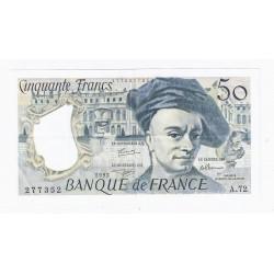 FRANCE - PICK 152 - 50 FRANCS 1992 - TYPE QUENTIN DE LA TOUR - A.72