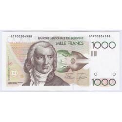 BELGIQUE - PICK 144 a - 1 000 FRANCS ( 1980 - 1996 ) - SUPERBE