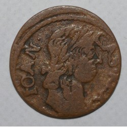 POLOGNE - KM 110 - SOLIDUS - 1661 - JEAN II CASIMIR VASA