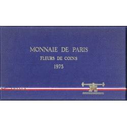 COFFRET FLEUR DE COIN 1975 TRANCHE B