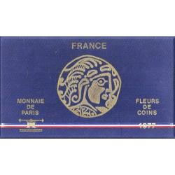 FRANCE - COFFRET FLEUR DE COIN - 1977 B