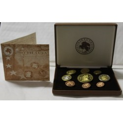 LITHUANIA - PROTOTYPE PROOF COIN SET 2004 - TRIAL - 9 COINS