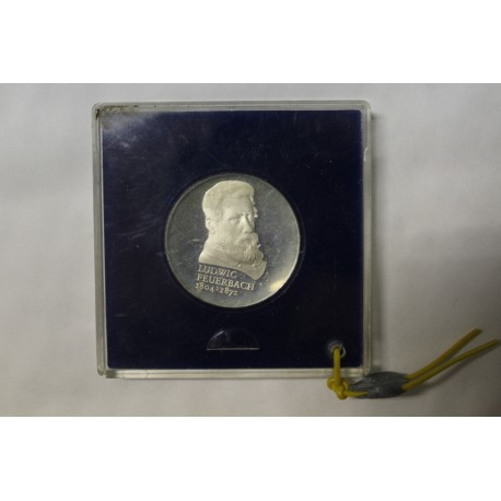 GERMANY - KM 73 - 10 MARK 1979 - 175 YEARS OF THE BIRTH OF LUDWIG FEUERBACH