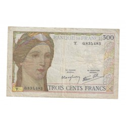 FRANCE - PICK 87 - 300 FRANCS 1939 - 09.02 - UNDATED