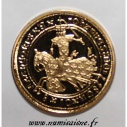 FRANCE- FRANC À CHEVAL - COPY - GOLD - JEAN II THE GOOD