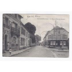 02850 - JAULGONNE - LA PLACE ET RUE DU CHARMEL