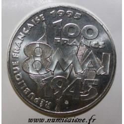 GADOURY 952 - 100 FRANCS 1995 - TYPE 8 MAI 1945 - KM 1116.1