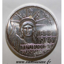 FRANCE - KM 960a - 100 FRANCS 1986 - TYPE FREEDOM - PIEFORT