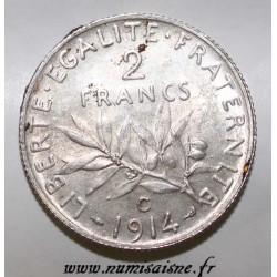 GADOURY 532 - 2 FRANCS 1914 C - Castelsarrasin - TYPE SEMEUSE - KM 845