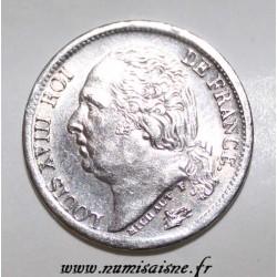 GADOURY 401 - 1/2 FRANC 1818 A - Paris - TYPE LOUIS XVIII - KM 708