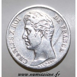 FRANCE - KM 704 - 1 FRANC 1830 W - Lille - TYPE CHARLES X