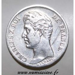GADOURY 450 - 1 FRANC 1830 W - Lille - TYPE CHARLES X - KM 724