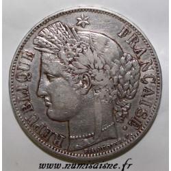 FRANCE - KM 761.1 - 5 FRANCS 1850 A - Paris - TYPE CERES