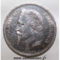 FRANCE - KM 799 - 5 FRANCS 1870 A - Paris - TYPE NAPOLEON III