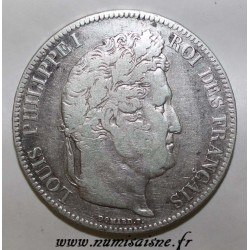 FRANCE - KM 749 - 5 FRANCS 1832 W - Lille - TYPE LOUIS PHILIPPE 1st