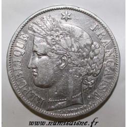 FRANCE - KM 761- 5 FRANCS 1851 A - Paris - TYPE CERES
