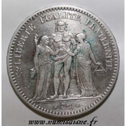 FRANCE - KM 756 - 5 FRANCS 1848 A - Paris - TYPE HERCULE