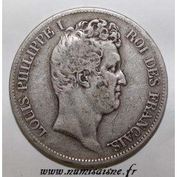 GADOURY 676 - 5 FRANCS 1830 W - Lille - TYPE LOUIS PHILIPPE I - KM 735