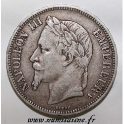 GADOURY 739 - 5 FRANCS 1867 - A Paris - TYPE NAPOLEON III - KM 799