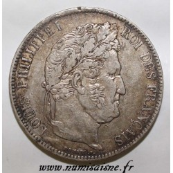 GADOURY 678 - 5 FRANCS 1839 W - Lille - TYPE LOUIS PHILIPPE 1er - KM 749