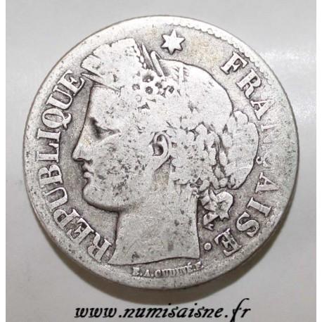 GADOURY 530 - 2 FRANCS 1871 - petit A - TYPE CÉRÈS - KM 817