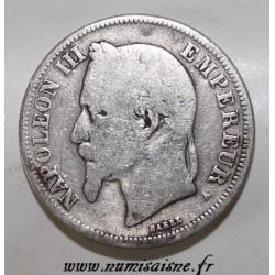 GADOURY 527 - 2 FRANCS 1867 A - Paris - TYPE NAPOLÉON III - KM 807