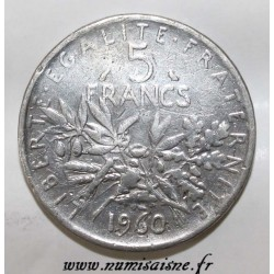 FRANCE - KM 926 - 5 FRANCS 1960 - TYPE SOWER - Fake