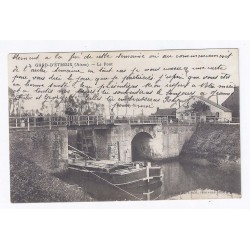 County 02510 - ETREUX - THE BRIDGE - BARGE