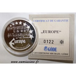 ALLEMAGNE - MEDAILLE EUROPA 1997