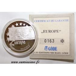 BELGIQUE - MEDAILLE EUROPA 1997