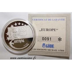 FINLANDE - MEDAILLE EUROPA 1997