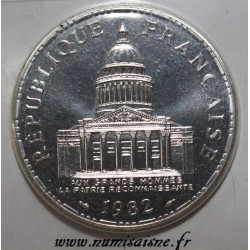GADOURY 898 - 100 FRANCS 1982 - TYPE PANTHEON - KM 951.1