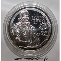BELGIUM - KM 255 - 10 EURO 2006 - 400 YEARS OF THE DEATH OF JUSTE LIPSE