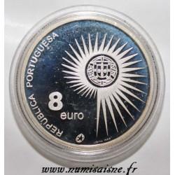 PORTUGAL - KM 753 - 8 EURO 2004 - ENLARGEMENT OF THE EU