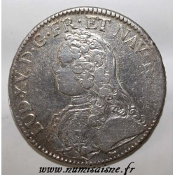 FRANCE - KM 486.1 - LOUIS XV - ECU WITH OLIVE BRANCHES - 1733 A - Paris