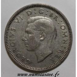 GRANDE BRETAGNE - KM 852 - 6 PENCE 1941 - GEORGE VI