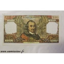 FRANCE - PICK 149 - 100 FRANCS 1967 - 05.10 - TYPE CORNEILLE - O.272