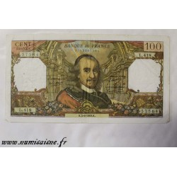 FRANCE - PICK 149 - 100 FRANCS 1969 - 05.06 - TYPE CORNEILLE - L.418