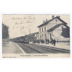 County 02130 - FÈRE EN TARDENOIS - THE TRAIN STATION