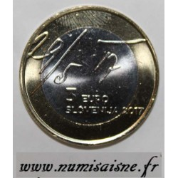 SLOVENIA - 3 EURO 2017 - 100 years of the May Declaration