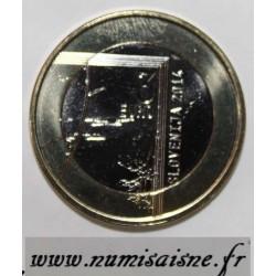 SLOVENIE - 3 EURO 2014 - 200 ans de la naissance du prêtre et photographe Janez Puhar
