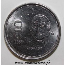 MEXIQUE - KM 512 - 10 PESOS - 1986 - HIDALGO