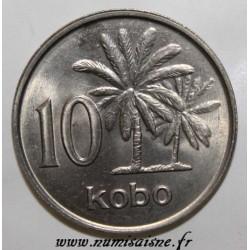 NIGÉRIA - KM 10.2 - 10 KOBO 1989