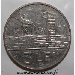 ROUMANIE - KM 96 - 3 LEI 1966